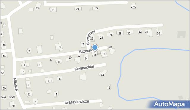 Rzeszów, Brzechwy Jana, 16, mapa Rzeszów
