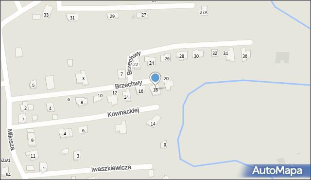 Rzeszów, Brzechwy Jana, 18, mapa Rzeszów