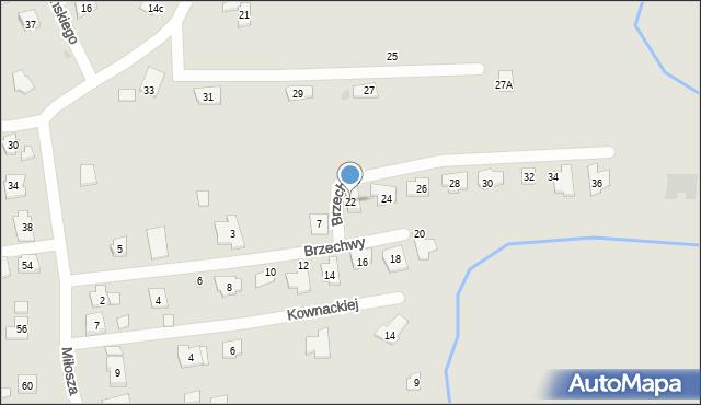 Rzeszów, Brzechwy Jana, 22, mapa Rzeszów