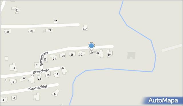 Rzeszów, Brzechwy Jana, 32, mapa Rzeszów