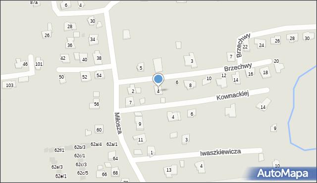 Rzeszów, Brzechwy Jana, 4, mapa Rzeszów