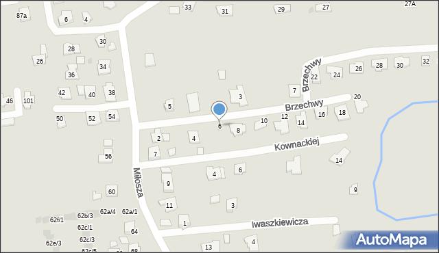 Rzeszów, Brzechwy Jana, 6, mapa Rzeszów