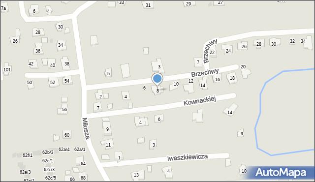 Rzeszów, Brzechwy Jana, 8, mapa Rzeszów