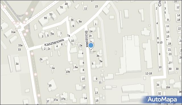 Toruń, Brzozowa, 3a, mapa Torunia