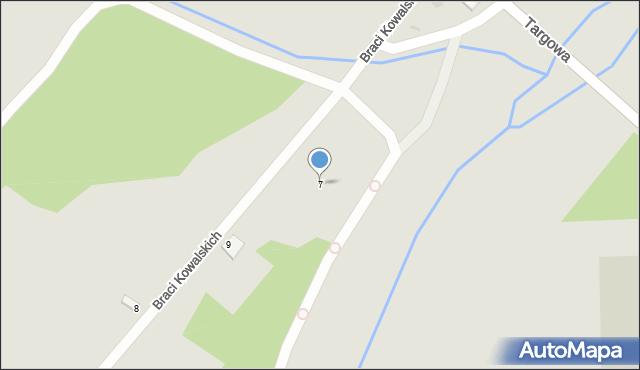 Dobczyce, Budowlanych, 7, mapa Dobczyce
