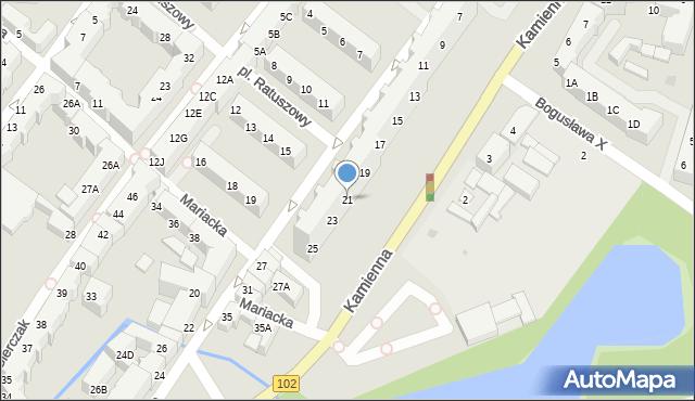 Kołobrzeg, Budowlana, 21, mapa Kołobrzegu