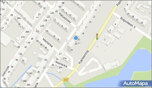 Kołobrzeg, Budowlana, 23, mapa Kołobrzegu