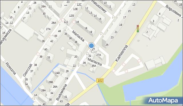 Kołobrzeg, Budowlana, 29, mapa Kołobrzegu