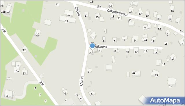Przemyśl, Bukowa, 4, mapa Przemyśla