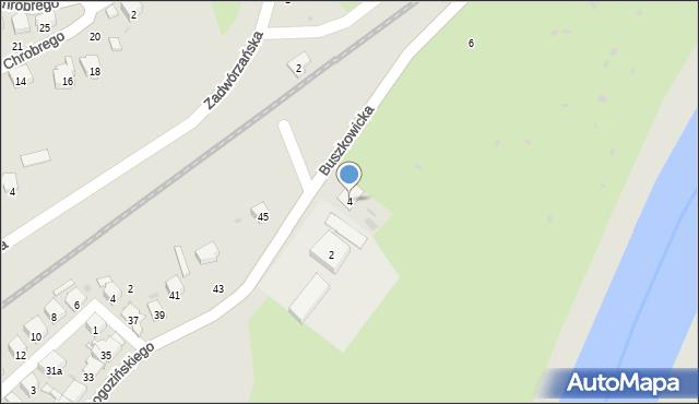 Przemyśl, Buszkowicka, 4, mapa Przemyśla