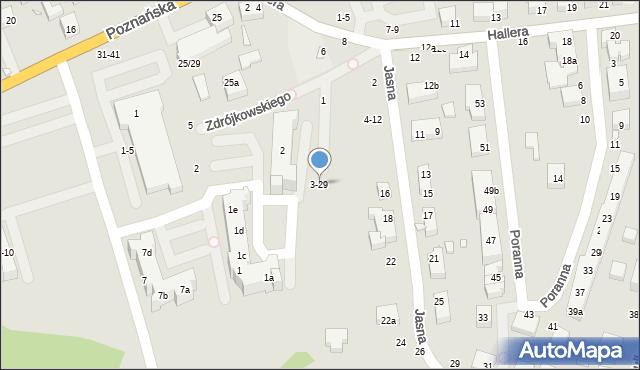 Toruń, Burhardta Stefana, 214, mapa Torunia
