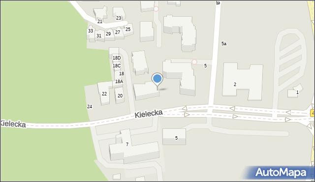 Gdynia, Bydgoska, 7a, mapa Gdyni