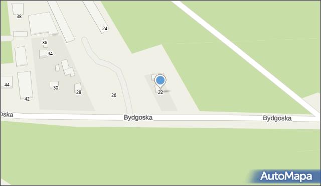 Mała Nieszawka, Bydgoska, 22, mapa Mała Nieszawka