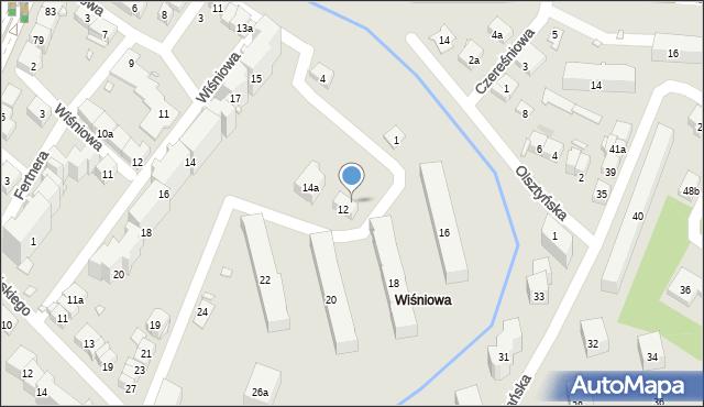Kraków, Celarowska, 12A, mapa Krakowa