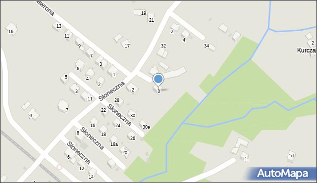 Limanowa, Ceglarza Stanisława, 3, mapa Limanowa