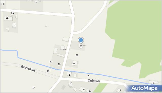 Milejowice, Cerekiewska, 65, mapa Milejowice