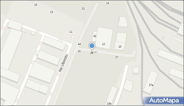Toruń, Ceglana, 29, mapa Torunia