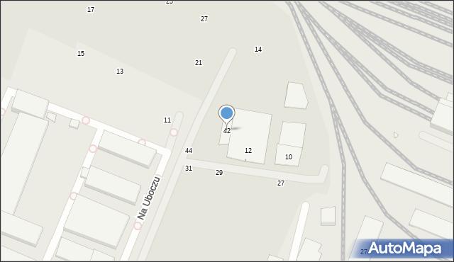 Toruń, Ceglana, 42, mapa Torunia