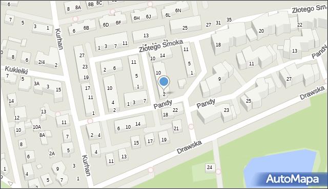 Warszawa, Cesarskiej Korony, 2, mapa Warszawy