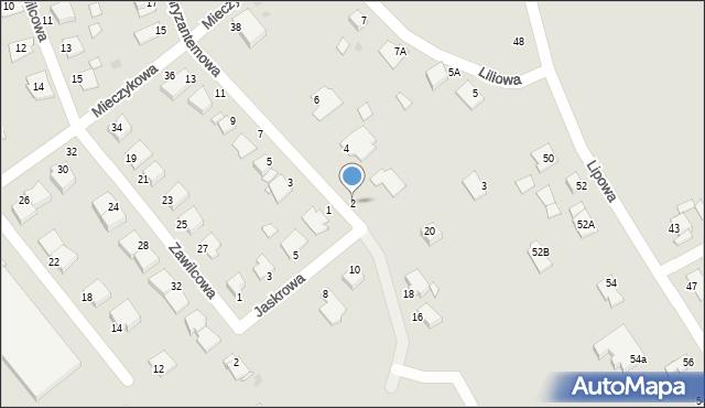 Grudziądz, Chryzantemowa, 2, mapa Grudziądza