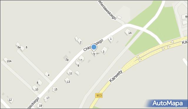 Jaworzno, Chłopickiego Józefa, gen., 5, mapa Jaworzno