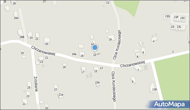Przemyśl, Chrzanowskiej Zofii, 12, mapa Przemyśla