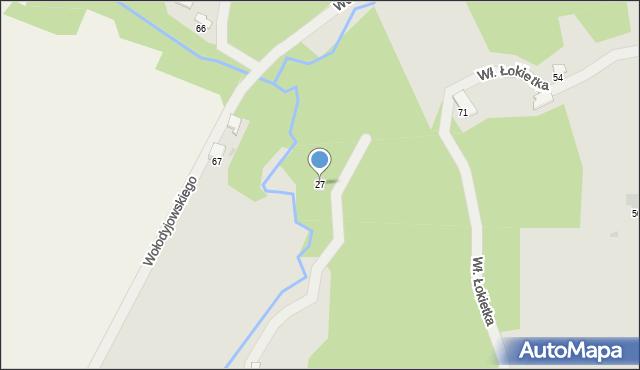 Przemyśl, Chrzanowskiej Zofii, 27, mapa Przemyśla