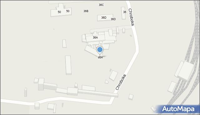 Ruda Śląska, Chroboka Maksymiliana, 46A, mapa Rudy Śląskiej