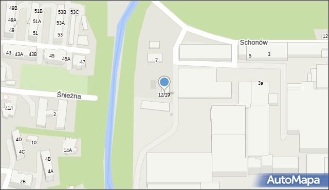 Sosnowiec, Chemiczna, 12/19, mapa Sosnowca