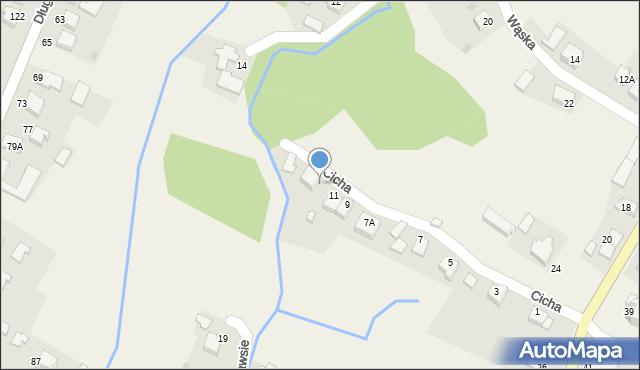 Przeciszów, Cicha, 13, mapa Przeciszów