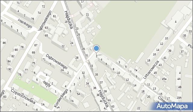 Chorzów, Cmentarna, 2, mapa Chorzów