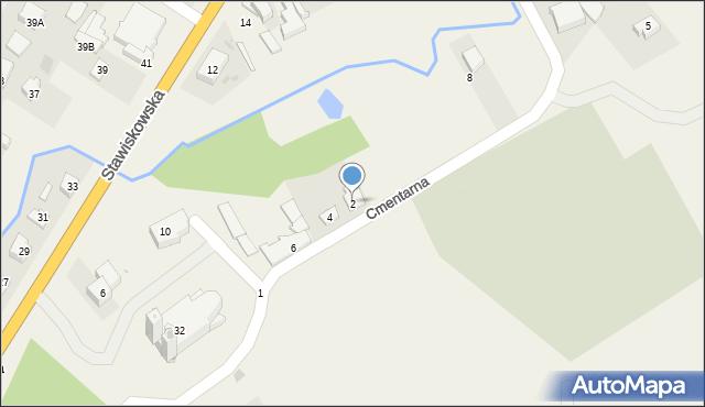 Piątnica Poduchowna, Cmentarna, 2, mapa Piątnica Poduchowna