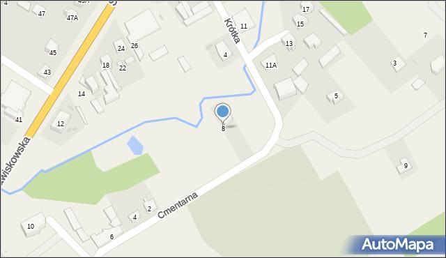 Piątnica Poduchowna, Cmentarna, 8, mapa Piątnica Poduchowna