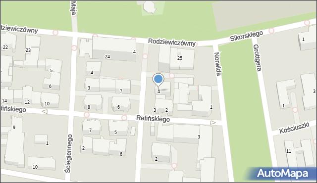 Kołobrzeg, Conrada-Korzeniowskiego Józefa, 4, mapa Kołobrzegu