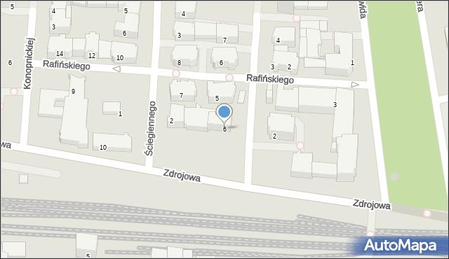 Kołobrzeg, Conrada-Korzeniowskiego Józefa, 6, mapa Kołobrzegu