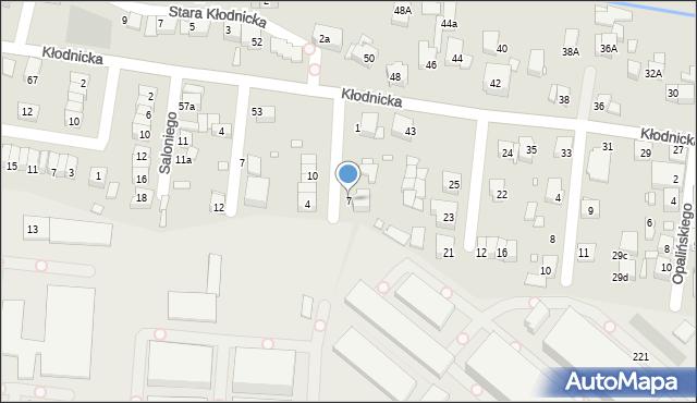 Katowice, Cybulskiego Zbigniewa, 7, mapa Katowic