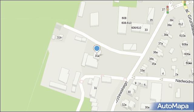 Gdańsk, Czyżewskiego Józefa, 31a, mapa Gdańska