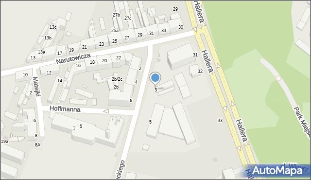 Grudziądz, Czarnieckiego Stefana, hetm., 3, mapa Grudziądza