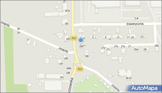 Kalisz, Częstochowska, 154, mapa Kalisza