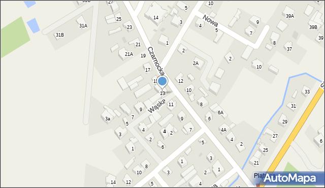 Piątnica Poduchowna, Czarnocka, 13, mapa Piątnica Poduchowna