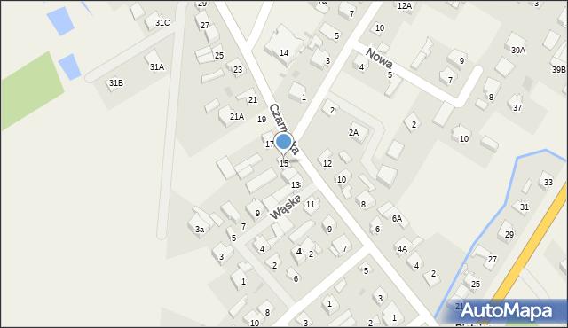 Piątnica Poduchowna, Czarnocka, 15, mapa Piątnica Poduchowna