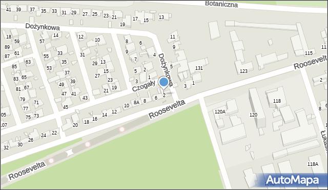 Zabrze, Czogały Emanuela, 2, mapa Zabrza
