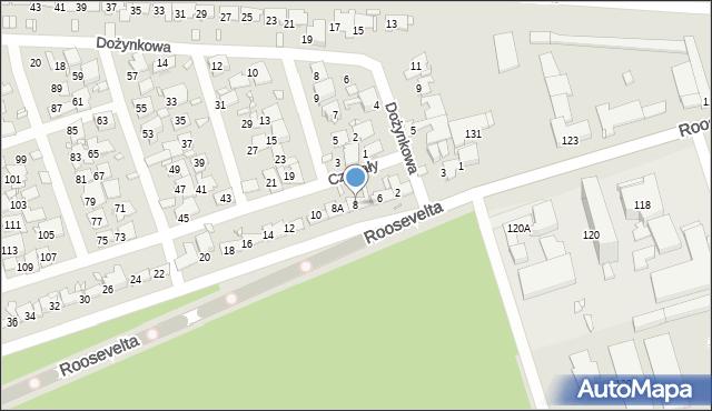 Zabrze, Czogały Emanuela, 8, mapa Zabrza