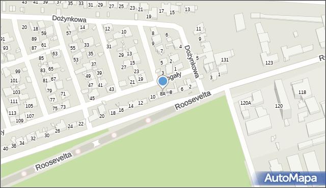 Zabrze, Czogały Emanuela, 8A, mapa Zabrza