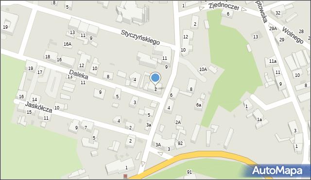 Bytom, Daleka, 2, mapa Bytomia