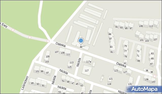 Bytom, Daleka, 44, mapa Bytomia