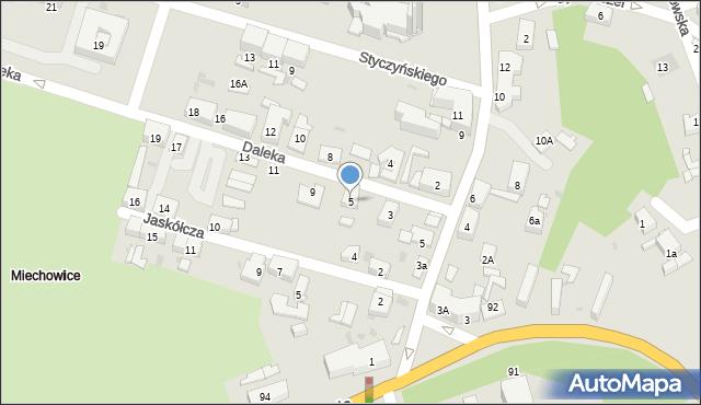 Bytom, Daleka, 5, mapa Bytomia