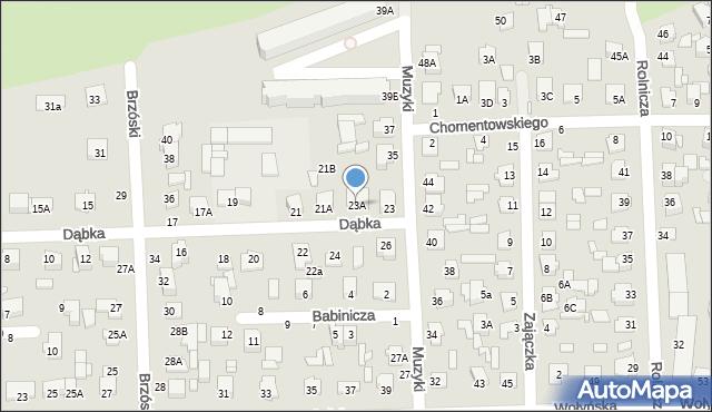 Chełm, Dąbka Stanisława, płk., 23A, mapa Chełma