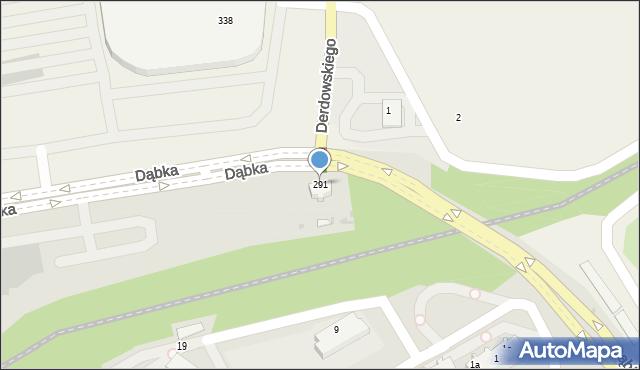 Gdynia, Dąbka Stanisława, płk., 291, mapa Gdyni