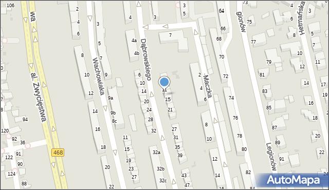 Gdynia, Dąbrowskiego Jarosława, gen., 13, mapa Gdyni